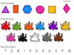 Free Beginning of the Year Kindergarten Assessment......umm my twins were doing all of this and much more before they turned two. I certainly hope people over twice their age are getting through this assessment easily. And if not, is this normal for a five year old? If that's the case, what can I do with my girls to keep challenging them