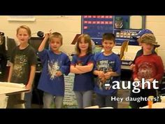 My second grade class makes learning fun!  They learn hunk and chunks while chanting and dancing!  Watch and see how much fun phonics can be!