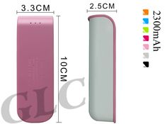 Mini power bank mobile phone charger - Standard cable free for each power bank- 100 for trial order