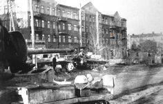 German SS Tanks in Kharkov, 1943.
