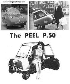 STRANGE LITTLE CAR - THE PEEL P-50
