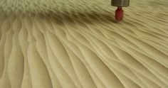 Creating Wavy Surface Patterns in Plywood with CNC Equipment