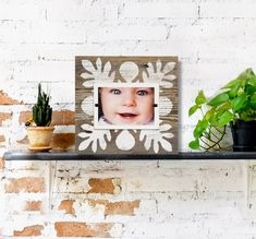 Farmhouse Tile Home Decor Reclaimed Rustic Wood 4x6 Picture Frame - White Washed Pattern over Natural Weathered Wood | Babys First Christmas #BabysFirst #ReclaimedWood #FarmhouseHomeDecor #BeachFrames #ChristmasWallDecor #ReclaimedWoodFrame #BarnwoodFrame #FarmhouseWallDecor #PictureFrame #4x6Picture Reclaimed Wood Frames, Barn Wood Frames, Weathered Wood, Rustic Wood, White Picture Frames, Picture On Wood, Beach Frame, Frame Stand, Simple Pictures
