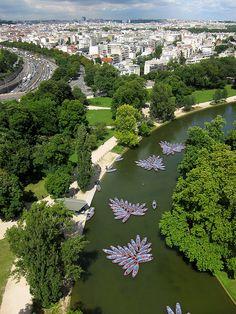 Paris, Lac Daumesnil au Bois de Vincennes
