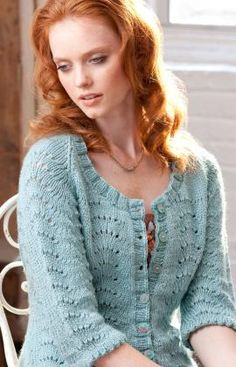 Redheart Yarn | Free Pattern || My Fair Cardi || #knitting #pattern #cardigan