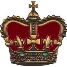 Crown brooch by Cath Kidston