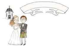 Wedding invitation illustration | Flickr - Photo Sharing!