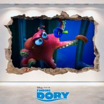 🥇 Vinilos Toy Story 3 Pared Rota 3D Rapunzel Disney, Toy Story, Birthday Candles, Decorate Apartment, Decorating Bedrooms, Decorate Walls, Finding Dory, Wall Decals, The Originals