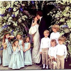 Join Emma Watson, Julia Restoin Roitfeld, Erdem and co as they celebrate the wedding of stylist Caroline Sieber to Fritz von Westenholz. Chic Wedding, Wedding Styles, Wedding Gowns, Dream Wedding, Julia Restoin Roitfeld, Wedding Of The Year, Pippa Middleton, Royal Weddings, Bridal