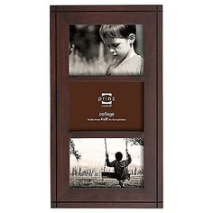 Special photos deserve a special frame. Diaplay your memories in style in the Prinz Dryden Dark Walnut Wood Frame that displays three 4 x 6 photos.