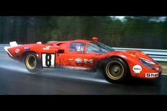 Le Mans 1970 Ferrari 512S Steve McQueen  Movie and TV Cars Picture