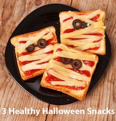 3 hauntingly healthy Halloween snack ideas