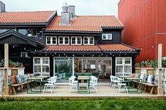 Vino Veritas – Restaurant bio à Oslo par Masquespacio Oslo, Design Café, Design Blog, Nordic Design, Design Ideas, Ad Mexico, Restaurant Bio, Restaurant Branding, Restaurant Ideas