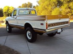 Buy used CALIFORNIA NATIVE 1971 CHEVY SUPER CHEYENNE C20 4x4 WITH FACTORY AIR in Auburn, California, United States