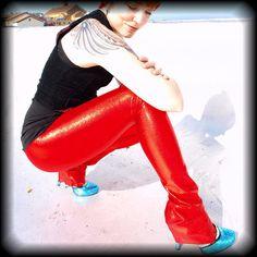 BeastWares red glitter britches!