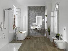 Contemporary bathroom \/ ceramic MOOD Noken by Porcelanosa