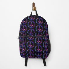 Different Styles, Fashion Backpack, Clutches, Shells, Peace, Colorful, Backpacks, Art Prints, Printed