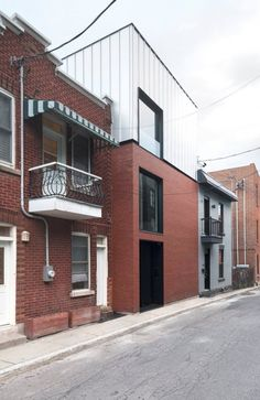 Maison Lagarde dans le quartier du Plateau-Mont-Royal à Montréal par la SHED architecture - Journal du Design