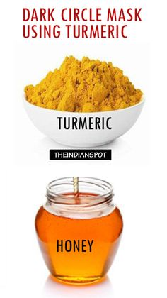 Due to its lightening and brightening properties, turmeric can be used to lighten the skin around the eyes to reduce dark cicles as well as fine lines.