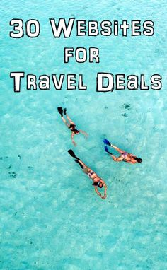 30 Websites for Travel Deals :   All the top travel deals and discounts from the top networks. -- Tanks that Get Around is an online store offering a selection of funny travel clothes for world explorers. Check out www.tanksthatgetaround.com for funny travel tank tops and couple travel tips. #budgettravelforseniors