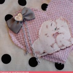What is not to like. Cats, hearts, pink. Check, check, and check.