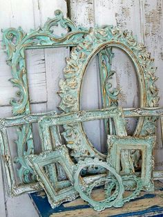 Shabby Chic furniture and style of decor displays more 'run down' or vintage items, or aged furniture. Shabby Chic is the perfect style balanced inbetween vintage and luxury, or '… Shabby Chic Furniture, Painted Furniture, Diy Furniture, Vintage Furniture, Distressed Furniture, Furniture Stores, Modern Furniture, Mirror Furniture, Furniture Movers