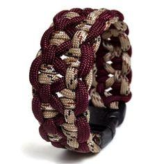 KBK Bar Paracord Bracelet YOU Pick the by TangledKnotDesigns, $6.25