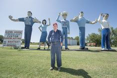 Joel Baker is raising funds for The Glenn Goode Story on Kickstarter! Glenn Goode has been making and collecting fiberglass giants for years. Help us fund a trip to document his giants and get his story The Glenn, Documentary Film, Documentaries, Projects, Log Projects, Blue Prints