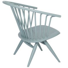 Crinolette chair, sage green, by Artek. Designed by Ilmari Tapiovaara.
