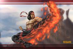 Liu Kang Mortal Kombat 11 by on DeviantArt Comic Art, Comic Books, Avengers Cartoon, Liu Kang, Mortal Kombat Art, Fighting Games, Zuko, Game Character, Game Art