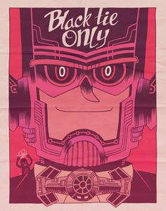 A black-tie affair. #Galactus never looked better in this illustration by Dan Hipp. #comics