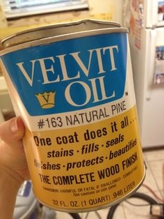 Velvit Oil for wooden countertops!  Country Kitchen D-I-almost-Y: Tile Backsplash and Ikea Butcherblock Counter Tops