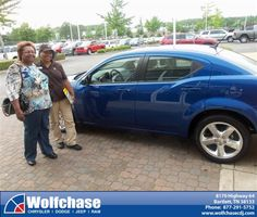 #HappyAnniversary to Queen Agnew on your 2013 #Dodge #Avenger from Luster Adams at Wolfchase Chrysler Jeep Dodge!