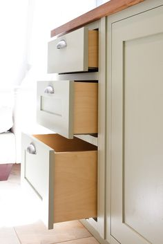 Timber drawers