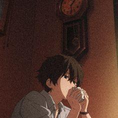 Brown Wallpaper, Sad Wallpaper, Brown Aesthetic, Aesthetic Anime, Anime Guys, Manga Anime, Anime Crying, Kirito Asuna, Black Anime Characters