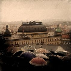 Zagreb In The Rain - been there!