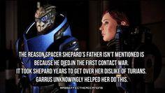 Mass Effect First Contact War   ... shepard turians garrus