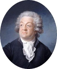 Honoré Gabriel Riqueti, comte de Mirabeau (1749 – 1791) leader of the group which became the National Assembly.  He was a moderate, favoring a constitutional monarchy. He unsuccessfully conducted secret negotiations with the French monarchy in an effort to reconcile it with the Revolution.