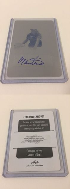 Tennis Cards 43371: 2015 Leaf Ultimate Tennis Martina Navratilova Printing Plate 1 1 Auto Autograph -> BUY IT NOW ONLY: $79.99 on eBay!