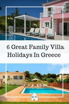 Family Villa Holidays To Greece - Renovation Bay-Bee Greece Resorts, Hotels And Resorts, Best Places To Travel, Places To Go, Villa Holidays, Greece Culture, European Holidays, Greece Holiday