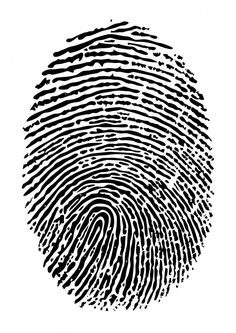 Wallmonkeys Fingerprint Vector Peel and Stick Wall Decals WM266091 (36 in H x 25 in W) -- Check this awesome image  (This is an amazon affiliate link. I may earn commission from it)