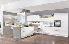 nobilia Küchen - keukens - Producten - Keukengalerie - Wit