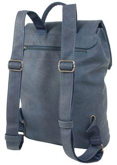 ded74c439ad1b Damen City-Rucksack handlicher Daypack mit Laptopfach Kurier-Rucksack Schule  Uni  Ad