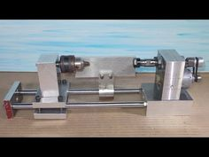 Homemade Wood Mini Lathe Collet ER11 Drill DIY Headstock Chuck Spindle T...