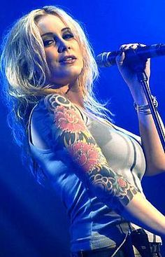 Anouk..for being a mother AND a badass rock chick.
