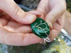 """I wrapped this """"leafy branches"""" pendant - Imgur"""