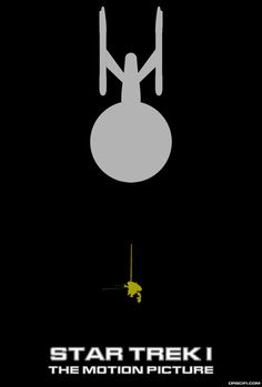 Star Trek I: The Motion Picture Minimalist Poster Art Print Star Trek Posters, Film Posters, Star Trek Original Series, Star Trek Movies, Star Trek Ships, Alternative Movie Posters, Minimalist Poster, Minimalist Art, Paramount Pictures