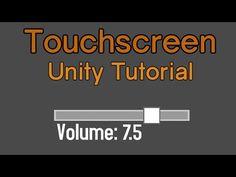 Unity Touchscreen Tutorial: Slider - YouTube