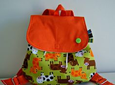 Check out our backpacks selection for the very best in unique or custom, handmade pieces from our shops. Toddler Backpack, Girl Backpacks, Cute Bags, Diy And Crafts, Quilting, Coconut, Fancy, Sewing, Handmade