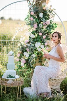 Bridal Inspiration Shoot featuring Bloom Screens - Decor & Rentals // Bridal Style // Wedding Rentals // Backdrops // Silk Florals // Bridal Gown // Outdoor Weddings // Blush Wedding // #albertaweddingsocial #weddinginspiration #styledshoot #weddingstyle #silkflorals Wedding Trends, Wedding Styles, Real Weddings, Outdoor Weddings, Wall Backdrops, Bridal Gowns, Wedding Dresses, Wedding Rentals, Beautiful Gowns